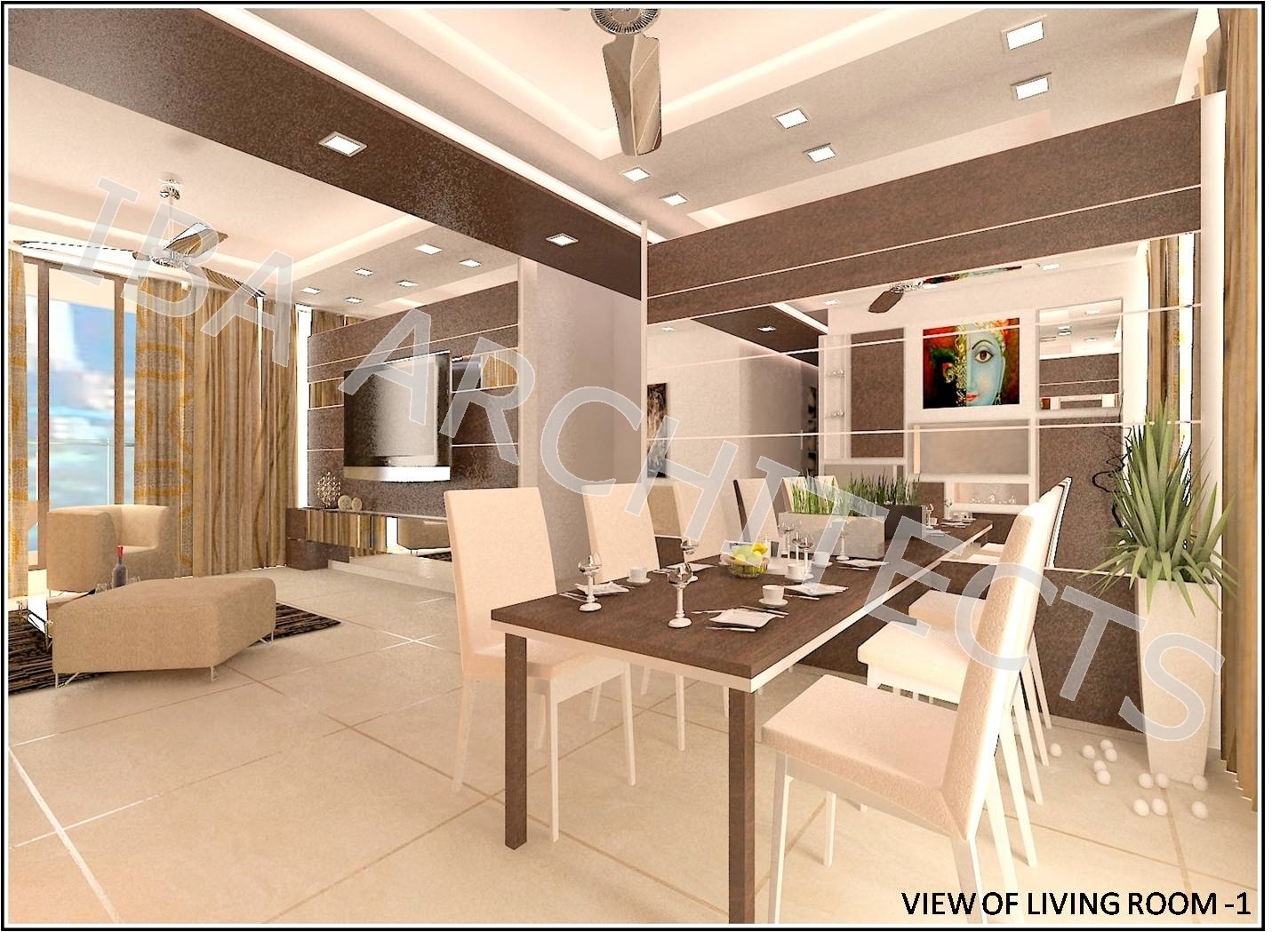 3 BHK LODHA LUXURIA : THANE